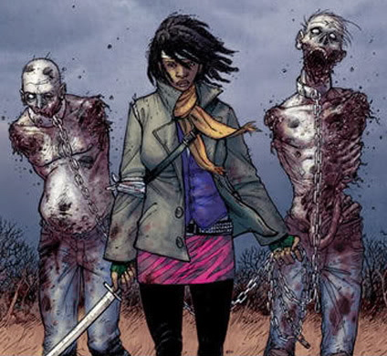 Walking Dead' Casts Its Zombie Killing Ninja, 'Michonne'!!!