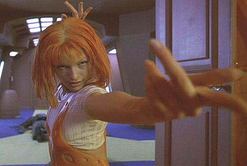 Boomstick Comics: Your... Milla Jovovich Photos From The Fifth Element