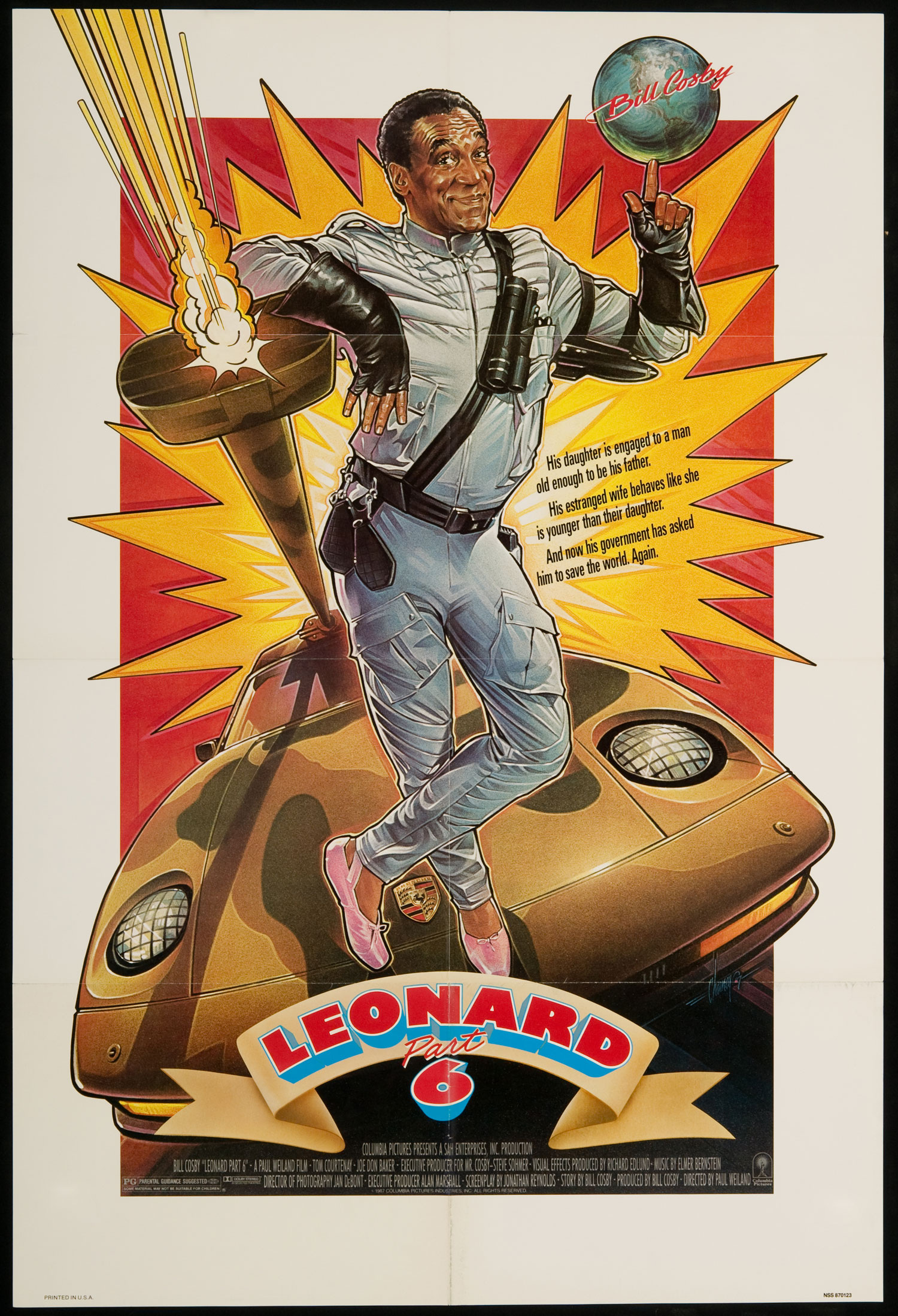 Image result for leonard part 6 poster