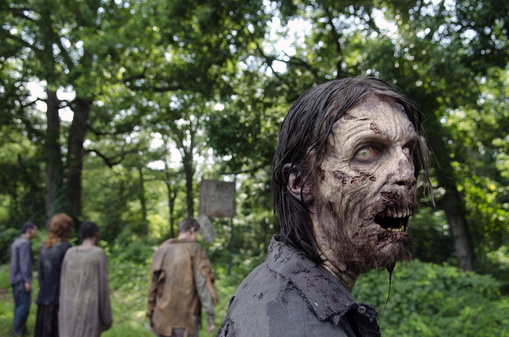 Walkers - The Walking Dead _ Season 4, Episode 6 - Photo Credit: Gene Page/AMC