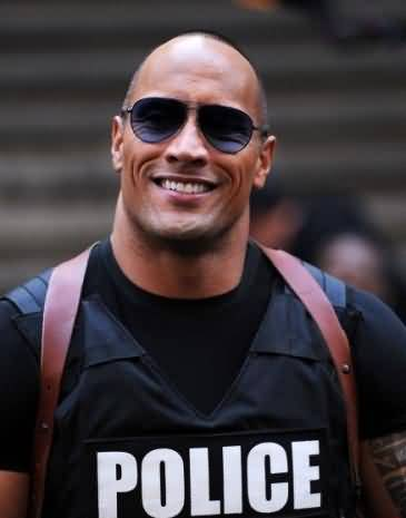 wwe-the-rock-in-police-dress