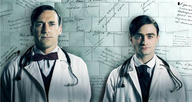Young Doctor's Notebook, Jon Hamm, Daniel Radcliffe