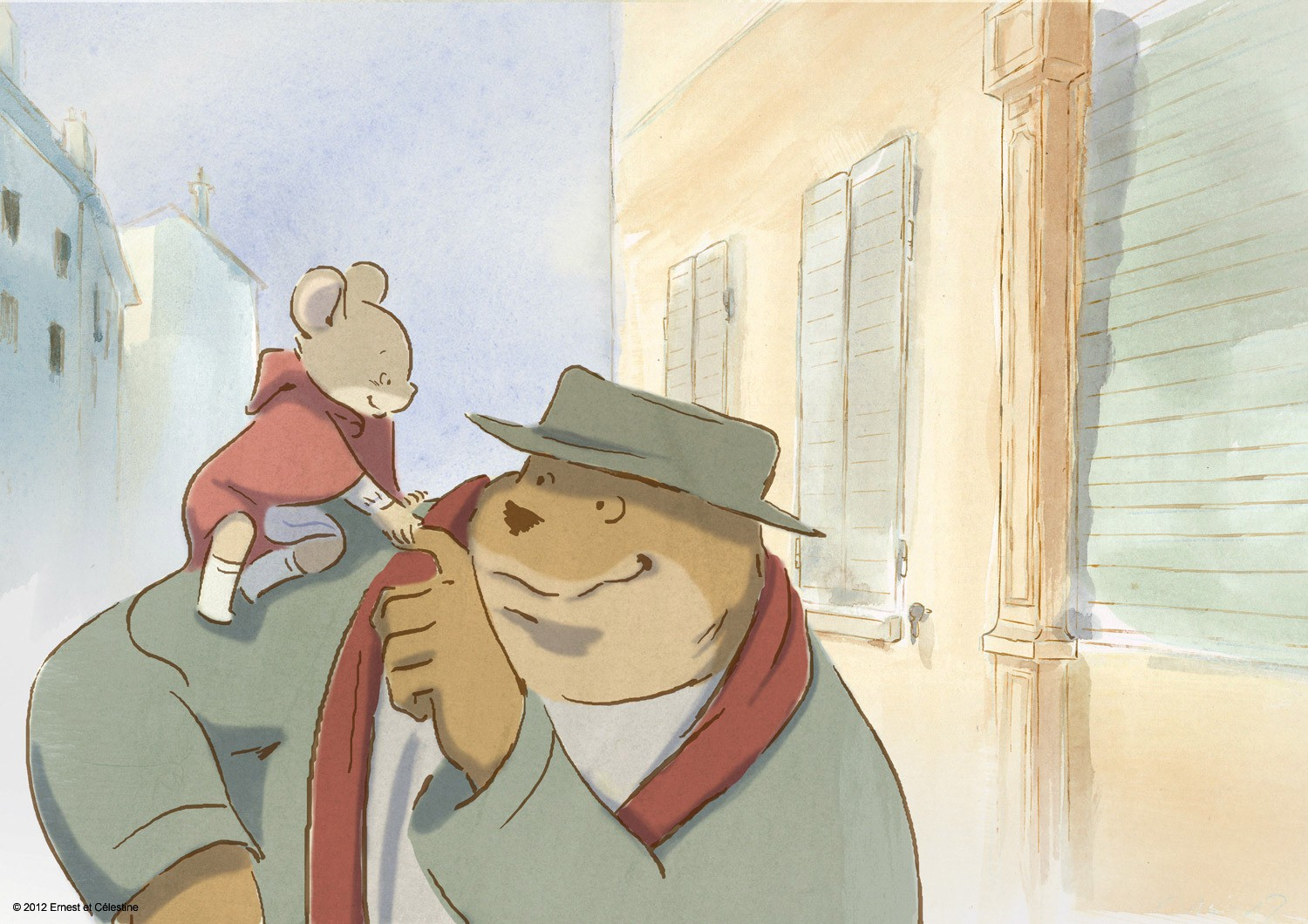 Film Review Ernest And Celestine Boomstick Comics