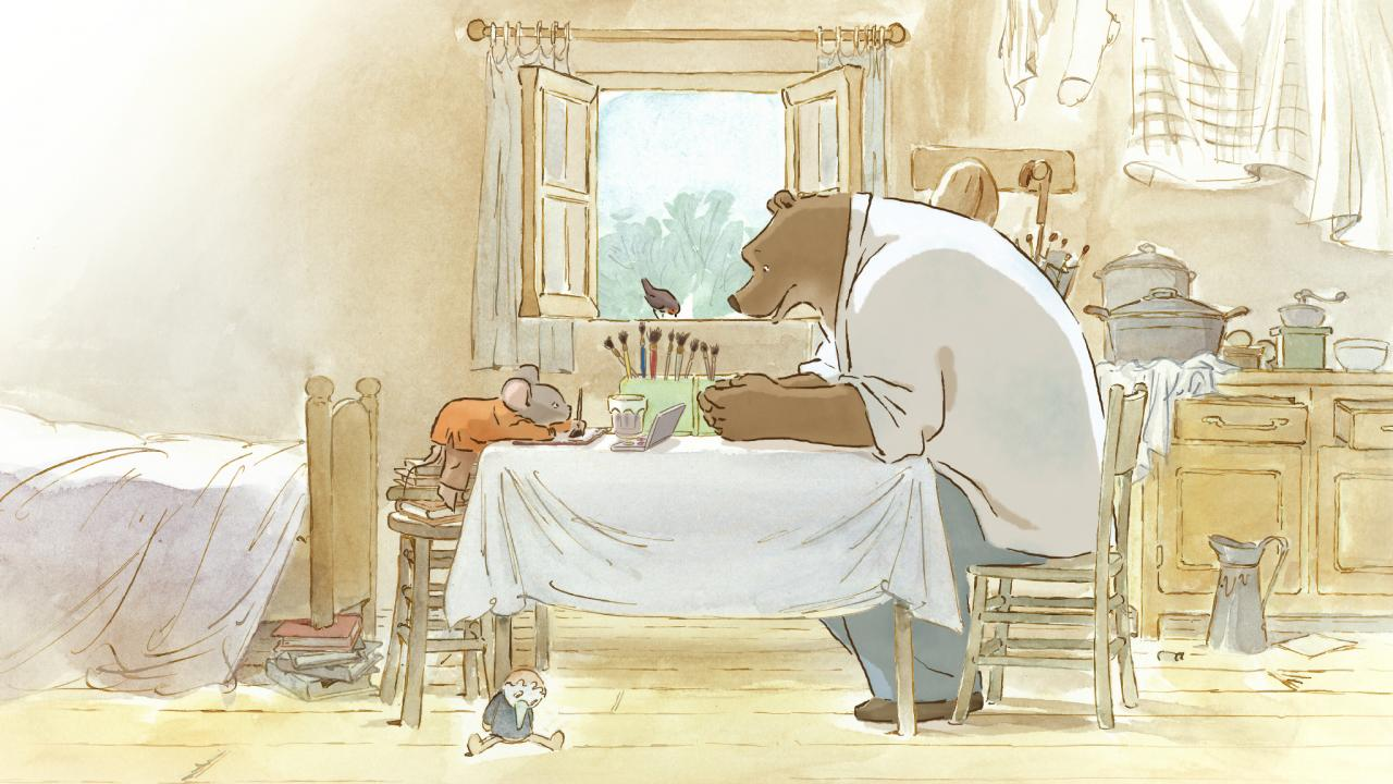 Boomstick Comics » Blog Archive Film Review: 'Ernest and ...  Ernest And Celestine