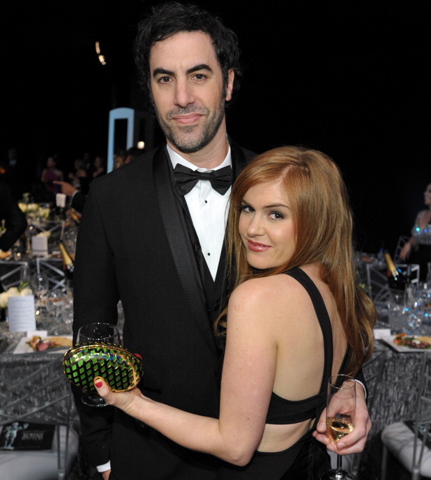 showbiz-sacha-baron-cohen-isla-fisher