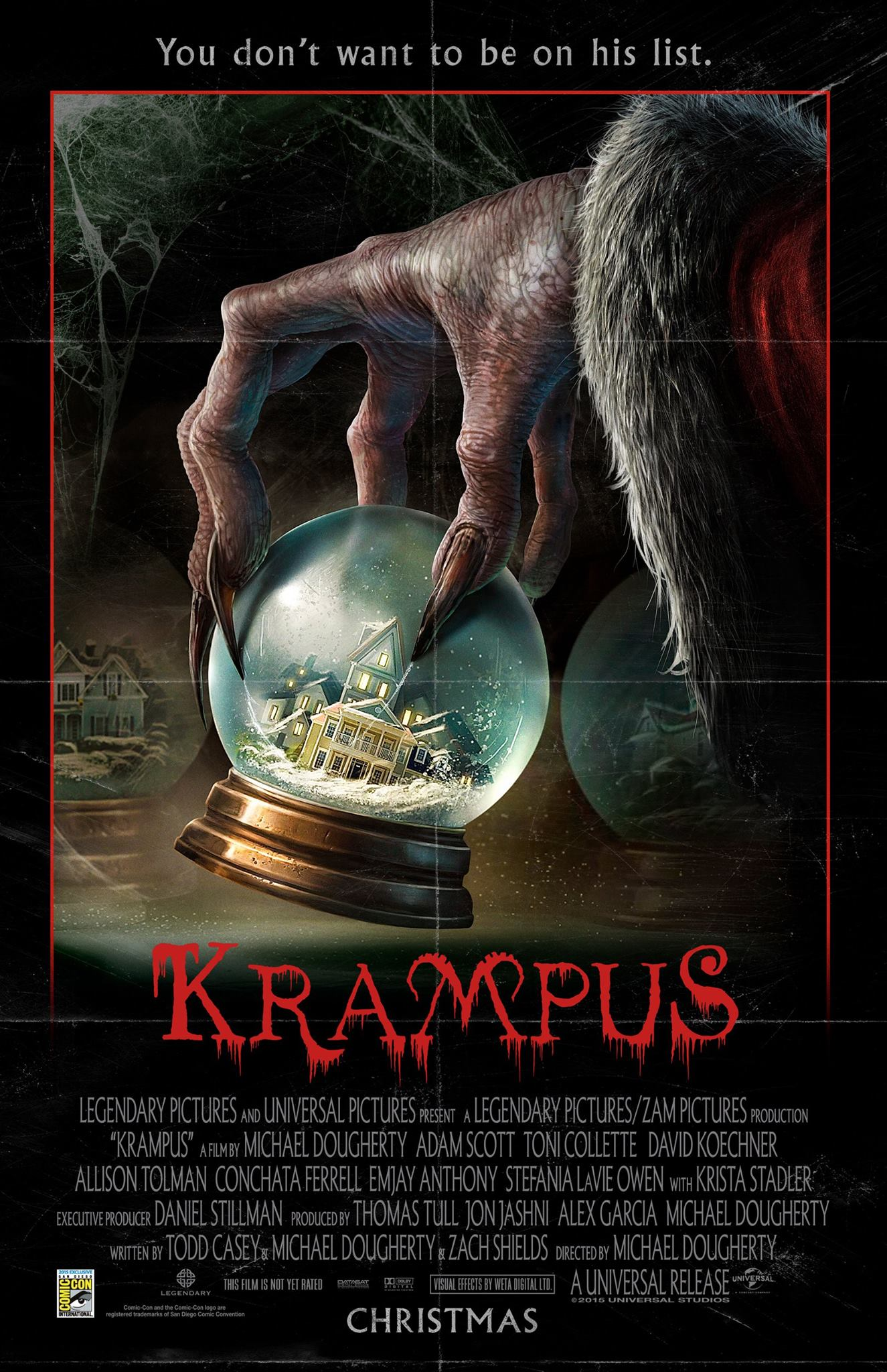 Laugh, Scream and Cry With 'Krampus' The Christmas Devil!!!