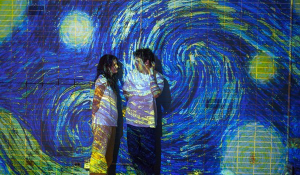 Touched with Fire -Van Gogh Walls