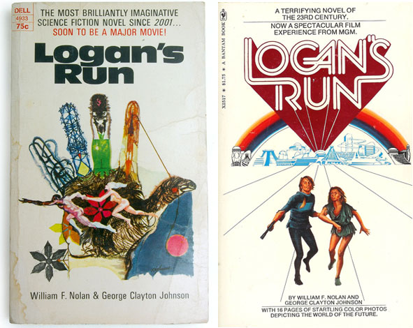 Logans-run-book-covers