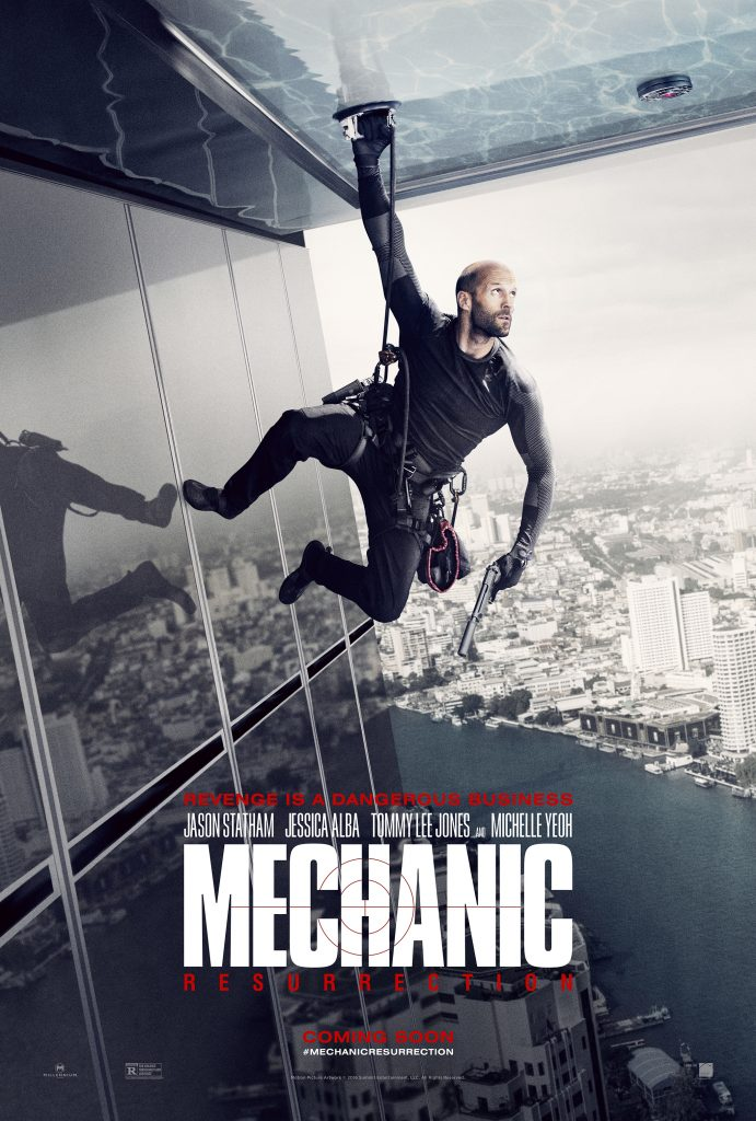 MECHANIC teaser poster