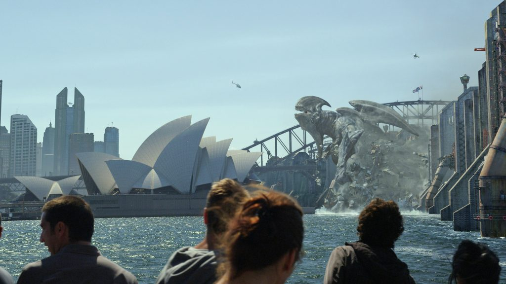 UNDATED - A Kaiju attacks Sydney Harbour in a scene from the sci-fi action adventure PACIFIC RIM. HANDOUT: WARNER BROS. FOR BOB THOMPSON (POSTMEDIA NEWS)