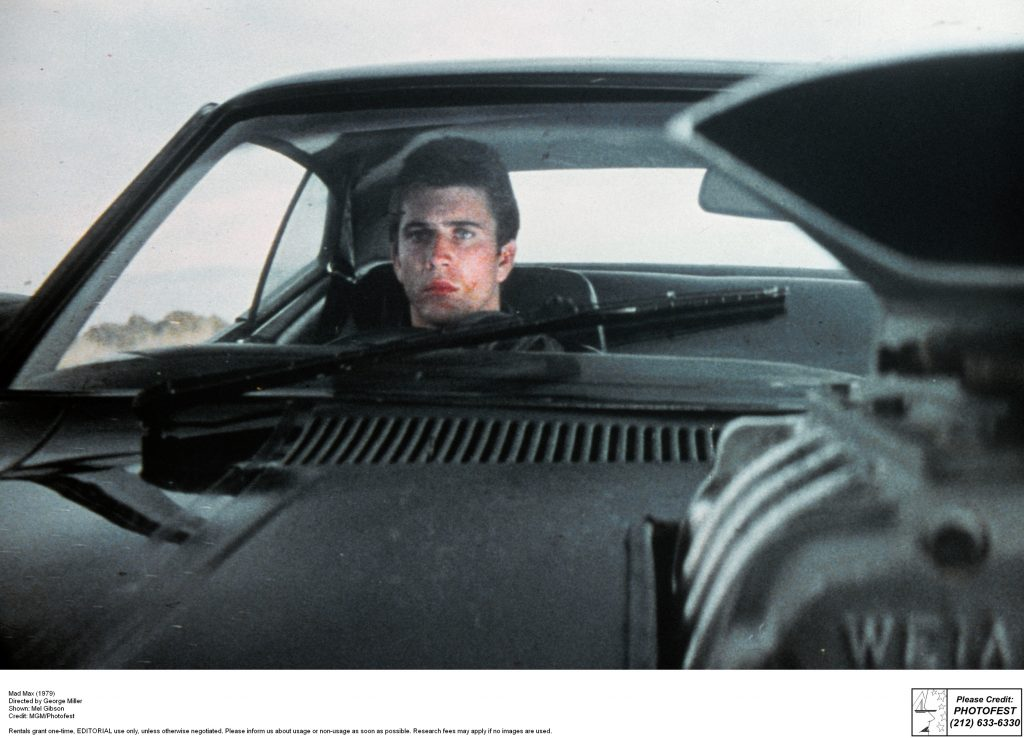 Mad Max (1979) Directed by George Miller Shown: Mel Gibson