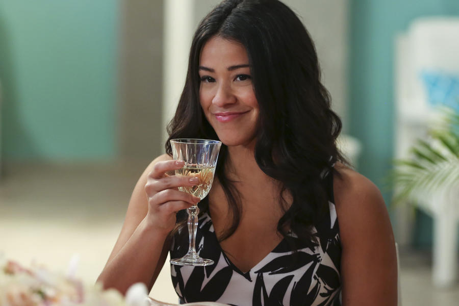 "Jane The Virgin -- ""Chapter Thirty-Four"" -- Image Number: JAV212a_0482.jpg -- Pictured: Gina Rodriguez as Jane -- Photo: Scott Everett White/The CW -- © 2016 The CW Network, LLC. All rights reserved."