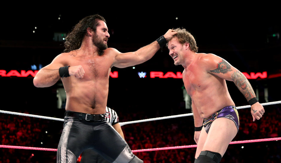 Chris-Jericho-vs-Seth-Rollins-WWE-Roadblock