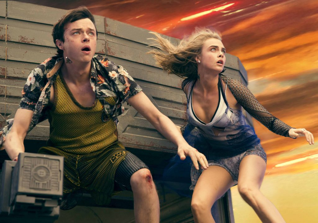 M-4VDF-16373afrpsd Final (Left to right.)    Dane DeHaan, and Cara Delevingne star in EuropaCorp's  Valerian and the City of a Thousand Planets. Photo credit: Vikram Gounassegarin © 2016 VALERIAN SAS Ð TF1 FILMS PRODUCTION