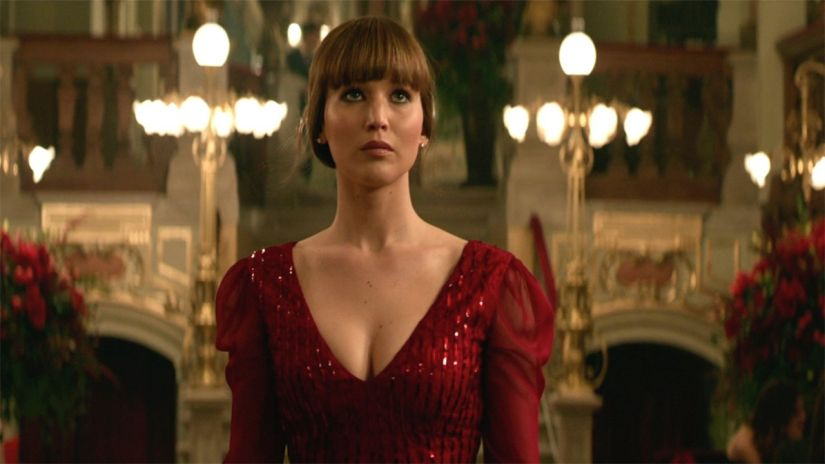 Image result for red sparrow movie