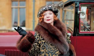 Shirley Maclaine in Downton Abbey TV series