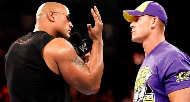 The-Rock-VS-John-Cena