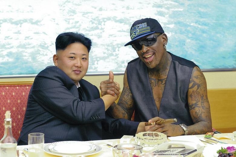 Dennis Rodman, Kim Jong Un