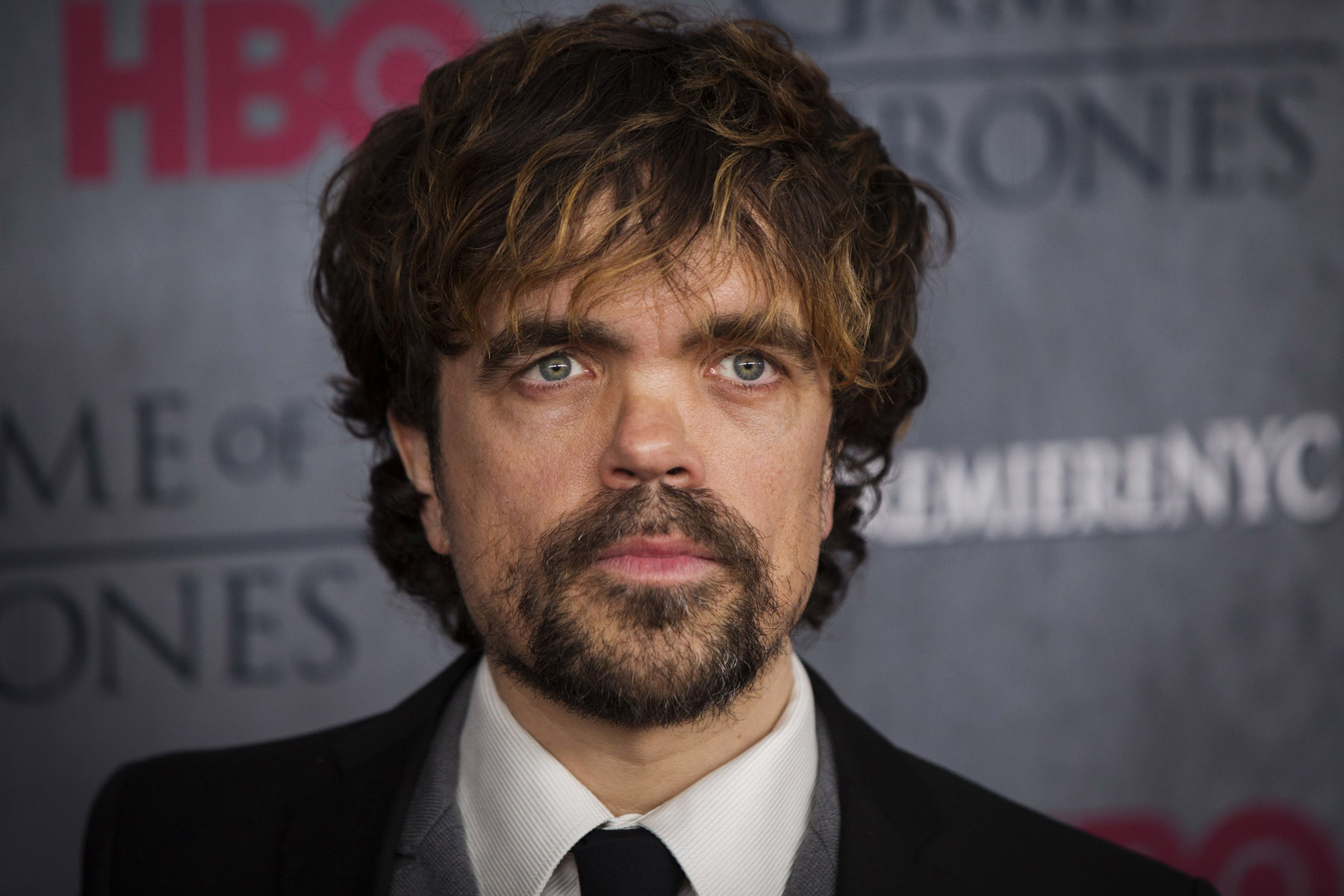 """Cast member Peter Dinklage arrives for the premiere of the HBO series """"Game of Thrones"""" in New York"""