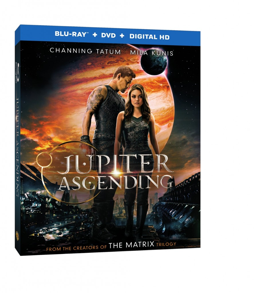 Jupiter Ascending Blu-ray Box Art