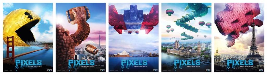 PIXELS-Movie-Posters