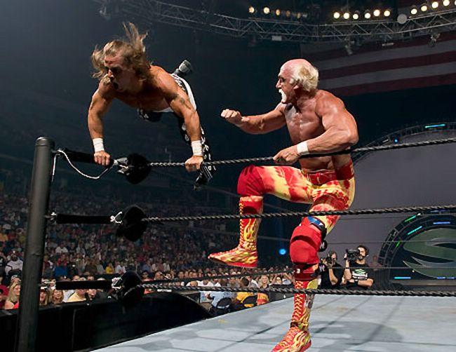 SummerSlam_2005_-_Hulk_Hogan_Vs_Shawn_Michaels_11