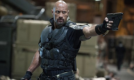 The Rock in GI Joe