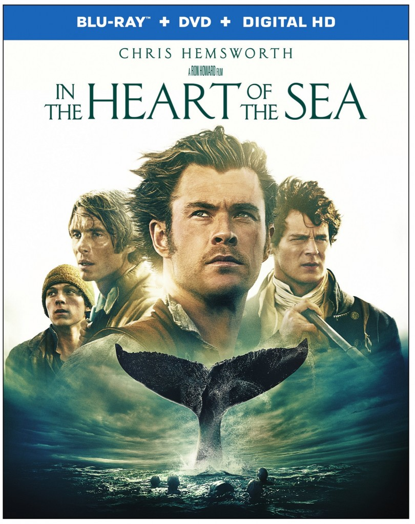 In the Heart of the Sea 2D Box Art (Flat Image)
