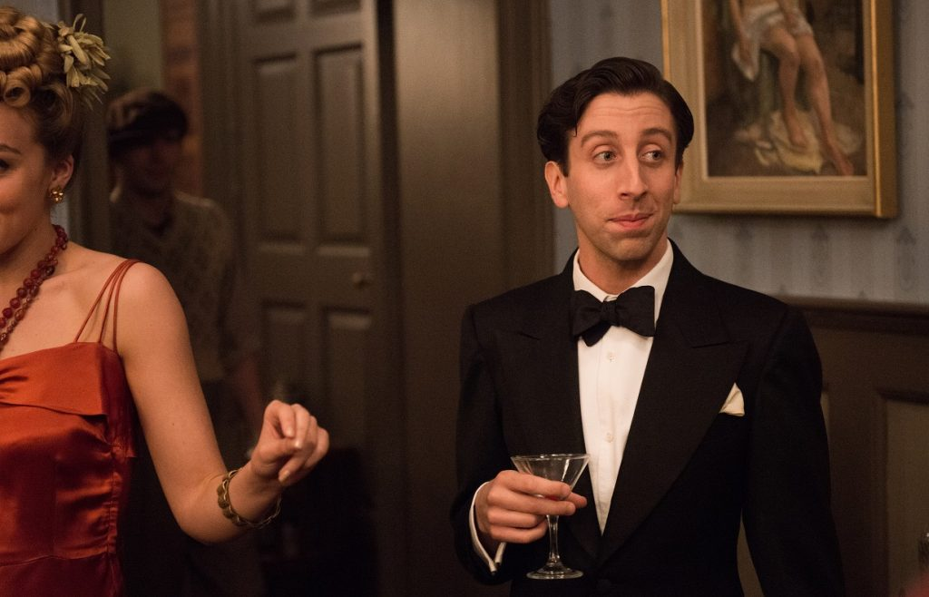 Cosme McMoon (Simon Helberg) in a scene from FLORENCE FOSTER JENKINS directed by Stephen Frears. In cinemas 5 May 2016. An Entertainment One Films release. For more information contact Claire Fromm: cfromm@entonegroup.com.