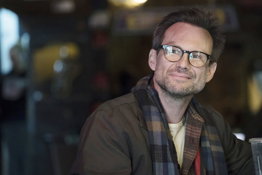 "MR. ROBOT -- ""d3bug.mkv"" Episode 103 -- Pictured: Christian Slater as Mr. Robot -- (Photo by: Virginia Sherwood/USA Network)"