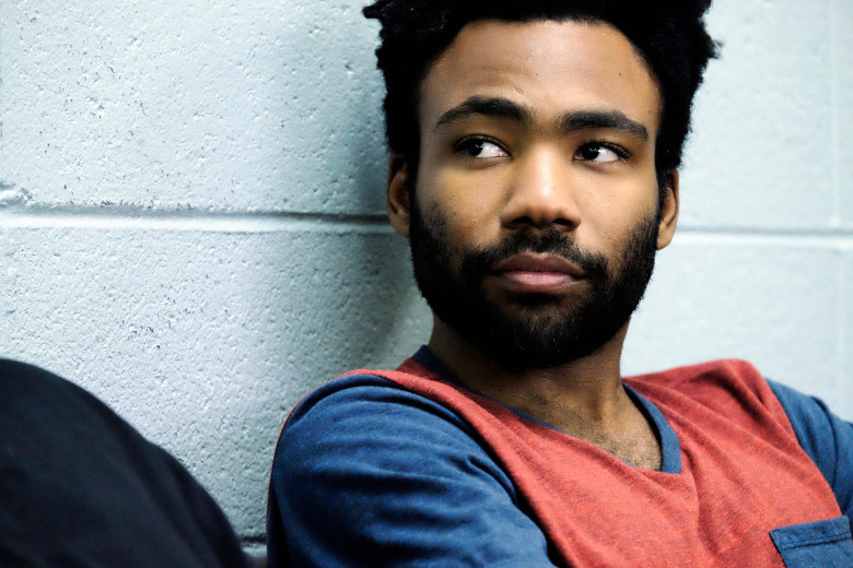 "ATLANTA -- ""Streets On Lock"" -- Episode 102 (Airs Tuesday, September 6, 10:30 pm e/p) Pictured: Donald Glover as Earnest Marks. CR: Guy D'Alema/FX"