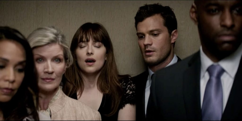 Fifty Shades Darker - Ana & Christian Elevator