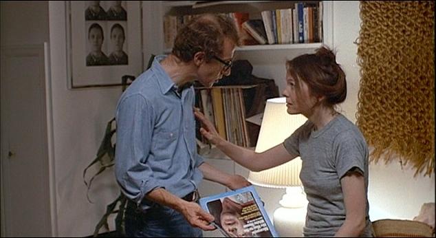 Annie Hall + Diane Keaton + khakis